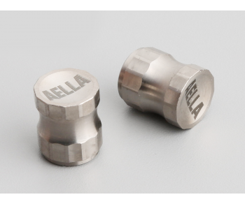 Titanium Air Valve Cap - Long Type ( 1 Pair )