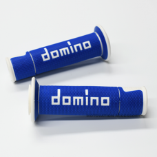 A450 BLUE/WHITE ROAD-RACING GRIPS