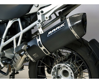 BMW R1200GS/ GSA 2010-2012 P-TEC II SS BLACK SLIP-ON