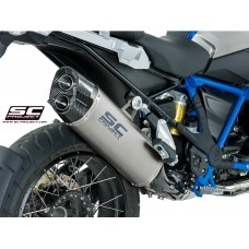 BMW R 1200 GS (2017 - 2019) - ADVENTURE, TITANIUM MUFFLER WITH CARBON FIBER ENDCAP