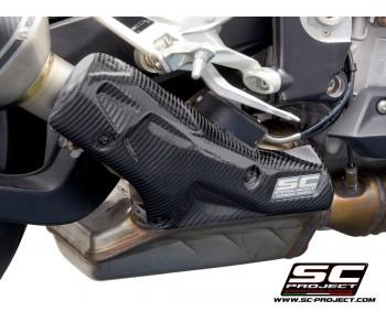 BMW S1000RR (2019 - 2020) CARBON FIBER HEAT PROTECTION SHIELD