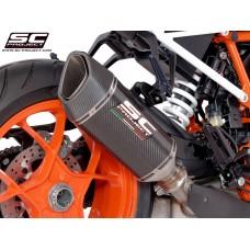 KTM 1290 SUPERDUKE R (2017 - 2019) - S/ R SC1-R CARBON MUFFLER