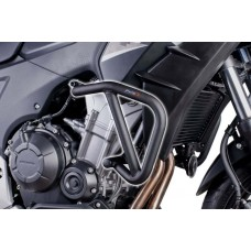 ENGINE GUARDS FOR HONDA CB400X 2013-2018- BLACK