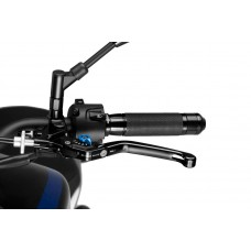 FOLDABLE CLUTCH LEVER 3.0. LEVER BLACK / SELECTOR BLUE