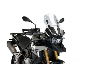 ADJUSTABLE SCREEN FOR BMW F850GS 2018-2021 / ADVENTURE 2019-2021 - CLEAR