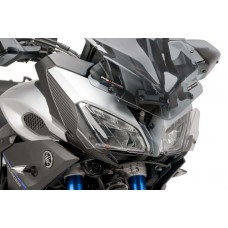 HEADLIGHT PROTECTOR FOR YAMAHA MT-09 TRACER 2015-2017- CLEAR