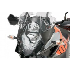 HEADLIGHT PROTECTOR FOR KTM 1050/1190 ADVENTURE/ 1290 SUPER ADVENTURE S/T - CLEAR