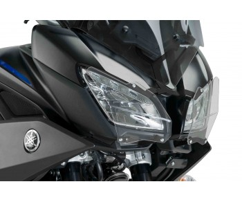 HEADLIGHT PROTECTOR FOR YAMAHA MT-09 TRACER/ TRACER 900GT 2018-2020 - CLEAR